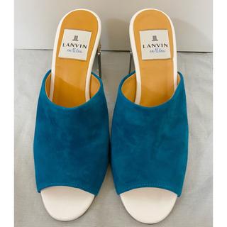 ランバンオンブルー(LANVIN en Bleu)の美品⭐︎ ランバンオンブルー サンダル(サンダル)