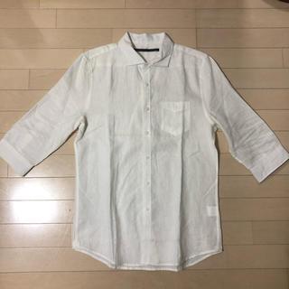 テットオム(TETE HOMME)のTete homme リネンシャツ サイズ6(シャツ)