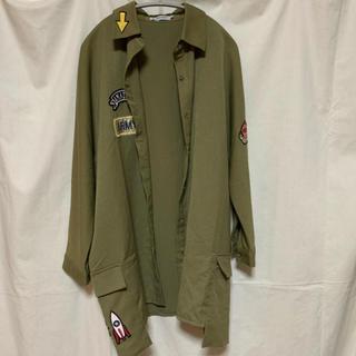 ローズバッド(ROSE BUD)のミリタリーシャツ(ミリタリージャケット)