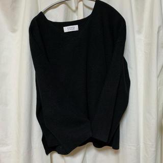 ローリーズファーム(LOWRYS FARM)のニット 黒(ニット/セーター)