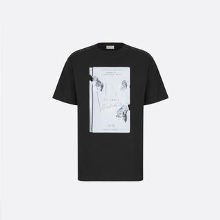 ディオール(Dior)のDIOR AND DANIEL ARSHAM コンパクトコットン Tシャツ(Tシャツ/カットソー(半袖/袖なし))