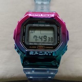 SKMEI デジタル50m防水腕時計 / デジタルウォッチ(腕時計(デジタル))
