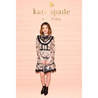 ケイトスペードニューヨーク(kate spade new york)の引っかけあり 希少 ケイトスペード 高級 ブラウス XS S(ひざ丈ワンピース)
