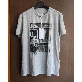 マルタンマルジェラ(Maison Martin Margiela)の20SS新品48 メゾン マルジェラ メンズ 足袋ブーツ Tシャツ タビ グレー(Tシャツ/カットソー(半袖/袖なし))