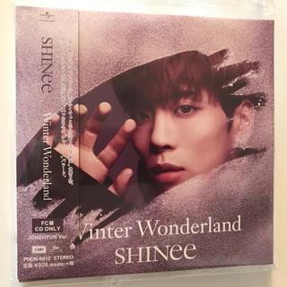 シャイニー(SHINee)のSHINee ジョンヒョン Winter Wonderland FC盤(K-POP/アジア)