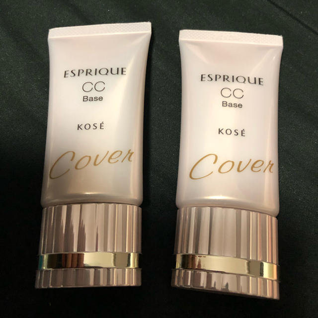 ESPRIQUE(エスプリーク)のエスプリーク  CCベース 化粧下地 カバー2個 コスメ/美容のベースメイク/化粧品(化粧下地)の商品写真