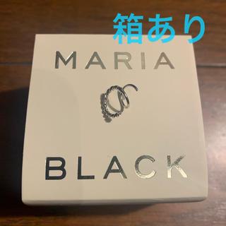 デミルクスビームス(Demi-Luxe BEAMS)のMARIA BLACK SOFIA TWIRL ピアス シルバー♡(ピアス)