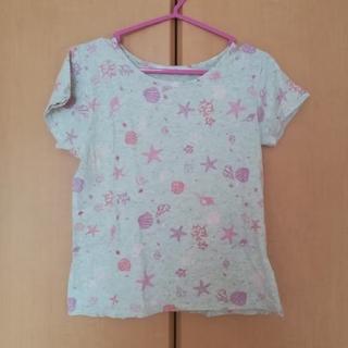 アンレリッシュ(UNRELISH)の貝殻柄のグレーTシャツ(Tシャツ(半袖/袖なし))