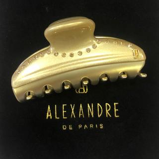 アレクサンドルドゥパリ(Alexandre de Paris)のアレクサンドルドウパリ ヘアークリップ 新品☆未使用(バレッタ/ヘアクリップ)