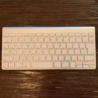 マック(Mac (Apple))の Apple Wireless Keyboard 2009(A1314)(PC周辺機器)
