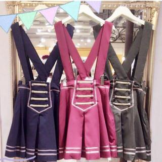アマベル(Amavel)のジャンパースカート(ひざ丈スカート)