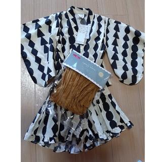 フタフタ(futafuta)のテータテート フタフタ バースディ 浴衣 ドレス 甚平(甚平/浴衣)