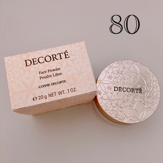 コスメデコルテ(COSME DECORTE)のコスメデコルテ フェイスパウダー  80(フェイスパウダー)