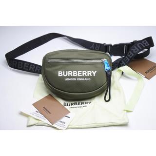 バーバリー(BURBERRY)のバーバリー ウエストポーチ カーキー ボディバッグ ユニセックス ロゴ 未使用(ボディーバッグ)