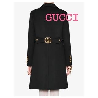 Gucci - ♥️GUCCIダブルG新品タグ付き♥️最新2020~2021AW♣ブラックコート