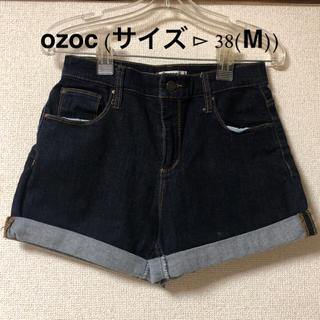 オゾック(OZOC)のozoc:デニムショートパンツ(ショートパンツ)