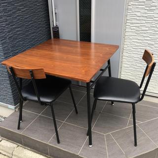 ニトリ(ニトリ)のニトリ ダイニングテーブル ダイニングチェア ウォルブ  2人掛け (ダイニングテーブル)