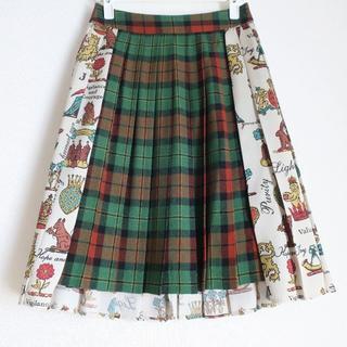 ジェーンマープル(JaneMarple)のjane marple スカート ジェーンマープル チェック(ひざ丈スカート)