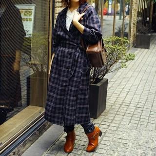 アクシーズファム(axes femme)のaxesfemme  裾刺繍2WAYコート(ロングコート)