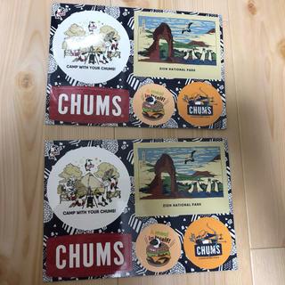 CHUMS - チャムス ノベルティステッカー