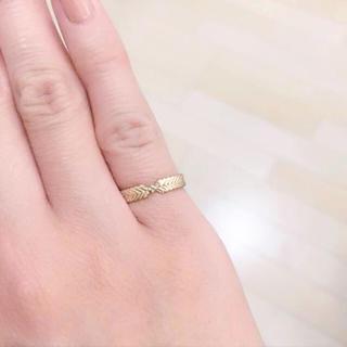 ジュピターゴールドレーベル(jupiter GOLD LABEL)のJUPITERのピンキーリング(リング(指輪))