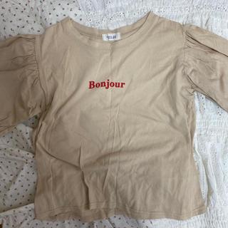 ワンアフターアナザーナイスクラップ(one after another NICE CLAUP)のBonjour Tシャツ(Tシャツ/カットソー(半袖/袖なし))