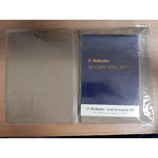 【新品未使用】ロルバーン ノートパッドカバー A5 ノート付 ベージュ(ブックカバー)