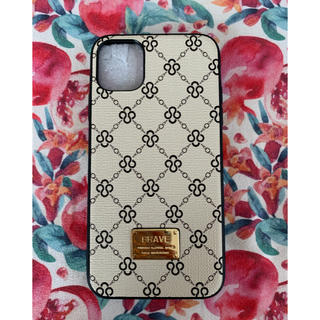 iPhoneケース ♡ モノグラム iPhone11 柄 シンプル(iPhoneケース)