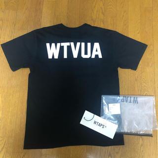 ダブルタップス(W)taps)の19SS WTAPS WTVUA TEE Tシャツ 黒 02 M(Tシャツ/カットソー(半袖/袖なし))