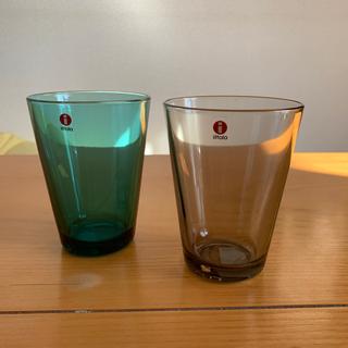 イッタラ(iittala)の専用イッタラ カルティオ シーブルー、リネン(グラス/カップ)