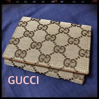グッチ(Gucci)の美品♡GUCCI♡名刺ケース(名刺入れ/定期入れ)