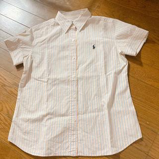 ポロラルフローレン(POLO RALPH LAUREN)の古着*ラルフローレンシャツ(シャツ/ブラウス(半袖/袖なし))