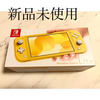 ニンテンドースイッチ(Nintendo Switch)のNintendo Switch Lite 本体 イエロースイッチライト(携帯用ゲーム機本体)