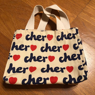シェル(Cher)のcher♡ シェル ミニトート(エコバッグ)