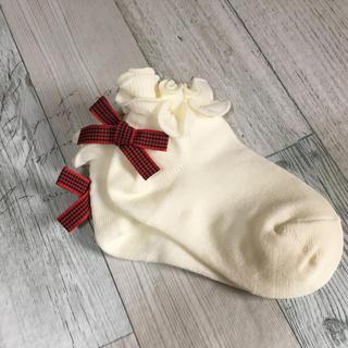 ファミリア(familiar)のファミリア 靴下 size11 新品未使用(靴下/タイツ)
