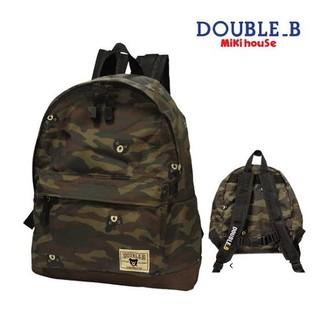 DOUBLE.B - 【美品】ダブルビー リュック 迷彩