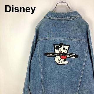 ディズニー(Disney)のディズニー☆USA製 ミッキーマウスキャラクター刺繍 Gジャン デニムジャケット(Gジャン/デニムジャケット)