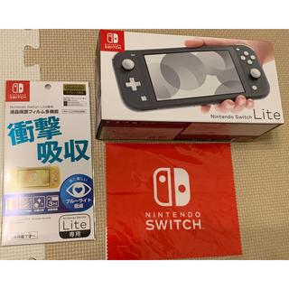 ニンテンドースイッチ(Nintendo Switch)のNintendo Switch Lite グレー ニンテンドースイッチ ライト(携帯用ゲーム機本体)