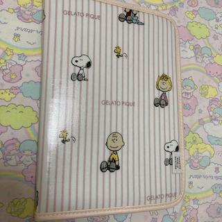 ジェラートピケ(gelato pique)のジェラートピケ 母子手帳 スヌーピー(母子手帳ケース)