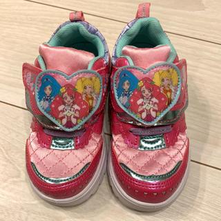 バンダイ(BANDAI)のヒーリングっどプリキュア 子供靴 15cm(スニーカー)
