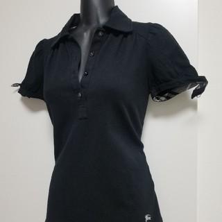 バーバリーブルーレーベル(BURBERRY BLUE LABEL)のBURBERRYポロシャツ レディース38(ポロシャツ)