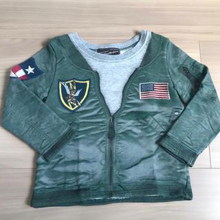 アヴィレックス(AVIREX)のストンプスタンプ  AVIREX 空軍 転写 100 110 スカジャン(Tシャツ/カットソー)