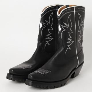 ジョンローレンスサリバン(JOHN LAWRENCE SULLIVAN)の19aw サリバン  LEATHER COWBOY BOOTS(ブーツ)