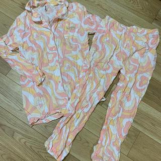エメフィール(aimer feel)のエメフィール♡ハート マーブル柄♡シャツ パジャマ(パジャマ)