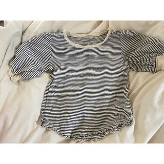 ミスティック(mystic)のmystic リブ半袖シャツ(Tシャツ(半袖/袖なし))