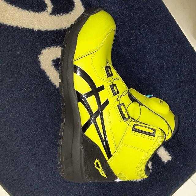 asics(アシックス)のアシックス 安全靴 ウィンジョブ CP304 BOA 限定カラー ネオンイエロー メンズの靴/シューズ(その他)の商品写真