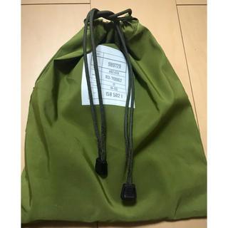 BEAMS - ITWパーツ使用 ミリタリー  巾着バッグ