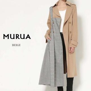 ムルーア(MURUA)のMURUA コート(トレンチコート)