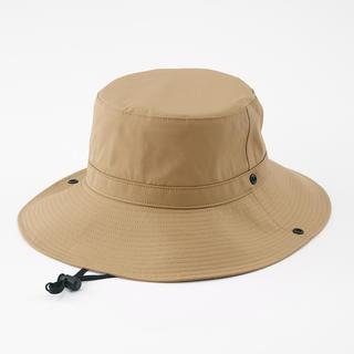 ムジルシリョウヒン(MUJI (無印良品))の無印 帽子 バケット ハット キャップ 防水 撥水 サーフィン キャンプ 釣(ハット)