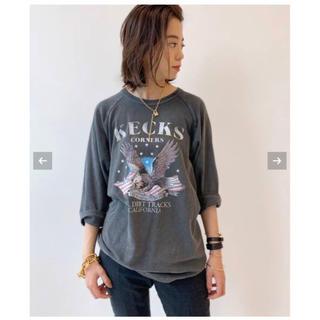 ドゥーズィエムクラス(DEUXIEME CLASSE)の♦︎新品タグ付♦ GOOD ROCK SPEED/Kecks Tシャツ(カットソー(長袖/七分))